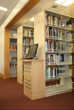 End panel OPAC station. ==Library Interior Designs== library furniture distributors,library furniture,school library furniture,library bookcase design,library inter...