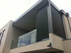 Sunex Aluminium Fixed Louvre System Privacy Screen Louvres
