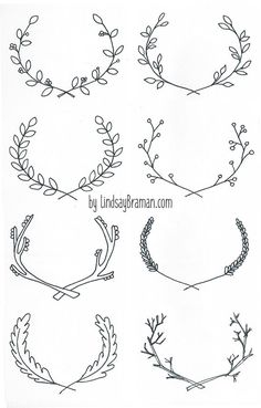 Laurel wreaths are (one of) my recent doodling obsessions. Although I'm working my way through Umoto's Drawing Cute Animal Illustration Book, I keep coming back to laurels in my sketchnotes and on the scrap pages in my notebook that I doodle on when a speaker is reviewing, answering questions, or telling stories. In my sketchnotes…