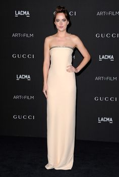 Dakota Johnson Arrivals at the LACMA Art + Film Gala in Beverly Hills November 1, 2014.