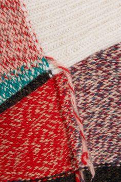 Stella McCartney | Maglione oversize di lana di patchwork NET-A-PORTER.COM