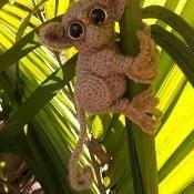 Phillippine Tarsier Crochet Pattern - via @Craftsy