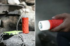 The speaker, power bank, and flash light tool made by Outdoor Tech is an essential item to pack when going on vacation, or to keep on hand for everyday use.