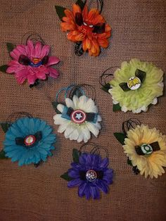 Superhero Boutonnieres.... might have to have these for the boys