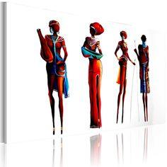Obraz malowany 100x70 Afryka h-A-0007-b-a - artgeist - Obrazy akrylowe #africa #art #obraz