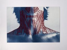 'Complex Structures' is a series of hand embroidered cyanotypes by artist Patrick Hickley. The contrast between the illustrative blood red thread and the blue, soft prints really make this body of work stick in your mind. A Level Photography, Photography Collage, Experimental Photography, Texture Photography, Photoshop Photography, Underwater Photography, Photography Ideas, Abstract Photography, Family Photography