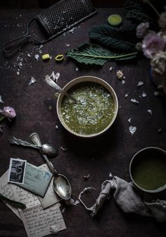 Kale & Leek Soup - A Venetian Gathering with The Freaky Table in Venice…