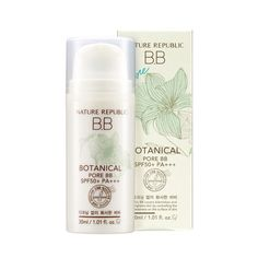 [Nature Republic] Botanical Pore BB Cream SPF50+ #23 Wrinkle Blemishes Cover