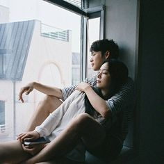 Find images and videos about cute, korean and asian on We Heart It - the app to get lost in what you love. Cute Couple Quotes, Love Couple, Couple Goals, John Green, Bae, Korean Couple, Ulzzang Couple, Fashion Couple, Lunar Chronicles