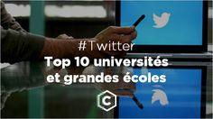 le classement de janvier 2016 des universités et des grandes écoles sur Twitter