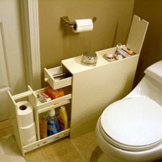 @Overstock - This wooden bathroom floor cabinet creates storage space, even when floor space is limited. You can also utilize the extra storage space for other cleaning products and more. http://www.overstock.com/Home-Garden/White-Wood-Bathroom-Floor-Cabinet/6021940/product.html?CID=214117 $118.00