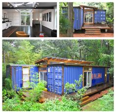 Incredible repurposed shipping container. Projects like these are perfect for DIY InSoFast insulation panels. www.insofast.com