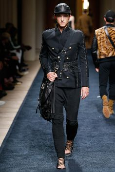 Balmain Spring 2016 Menswear - Collection - Gallery - Style.com