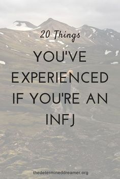 As an infj who is extremely contradictory, I found this list spot on