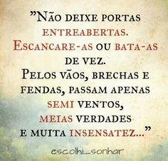 #pensamentos , #reflexões