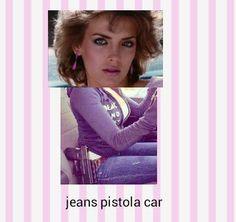 Jeans pistola car