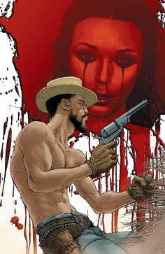#DjangoUnchained - Django & Broomhilda