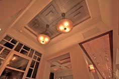 Custom ceilings in soft contemporary custom estate.