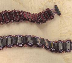 Reversible 3-D Bracelet Pattern by Sandra D. Halpenny