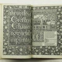 The Works of Geoffrey Chaucer by [KELMSCOTT PRESS] CHAUCER, Geoffrey - Jonkers Rare Books