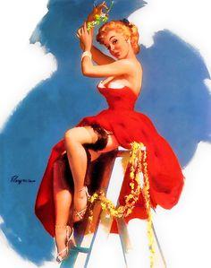 Gil Elvgren 1955 - My favorite pin-up artist