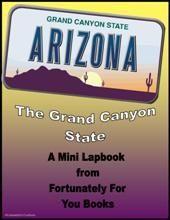 Mini State Lapbooks- Arizona - Fortunately For You Books |  | Mini LapbooksCurrClick