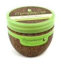 Macadamia Deep Repair Masque - makes hair really soft and smells good