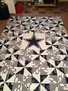 For Chandler - Homemade Dallas Cowboys quilt made for my husband