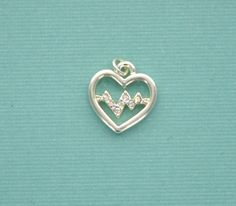 HEART BEAT with Swarovski Crystal Rhinestones . by SmartParts, $3.95