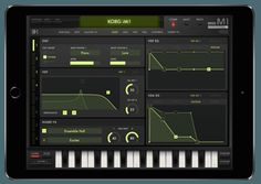 Korg iM1 iPad app Music Gadgets, Music Software, Studio Equipment, Music App, Best Apps, Electronic Music, Mobile App, Apple Watch, Ios