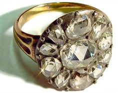 Ring that belonged to Bonnie Prince Charlie. When he occupied Derby in December 1745, the Prince held his headquarters at Exeter House but took his meals at the house of Mrs Ward, whose late husband had been Chief Alderman of Derby. Her 13 year old son, Samuel, tasted the Prince's food and Prince Charles gave this diamond ring to Mrs Ward upon his ill-fated departure. The ring stayed with the Ward family until 1947, when the wife of food taster's great-grandson offered the item to Derby Museum. Or Antique, Antique Jewelry, Vintage Jewelry, Bonnie Prince Charlie, Dragonfly In Amber, Royal Jewelry, Crown Jewels, Queen, Just In Case