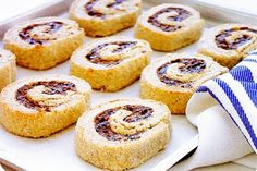 Egyptian Fig Roll Cookies. You may know these tender, not too sweet cookies by their name Fig Newtons, but in reality the recipe is of Egyptian design. This version combines the traditional flavours of North Africa with the whole grain cookies of today.