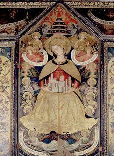 Benozzo Gozzolis Madonna in Sermoneta