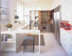 Kuth/Ranieri Russian Hill kitchen | Remodelista  Kitchen design - Stainless Steel