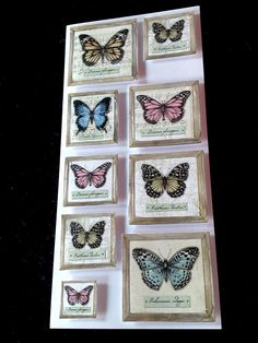 Card made by Gill Cox, using 'A Pocket Full of Paper' from Craftwork Cards. Butterfly Kisses, Butterfly Cards, Craftwork Cards, Card Ideas, Appreciation, Card Making, Arts And Crafts, Artsy, Usb