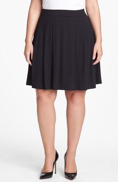 Eileen Fisher Pleat Skirt (Plus Size) available at #Nordstrom