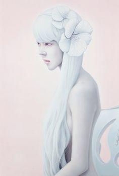 Kwon Kyung-yup. #Art #Painting