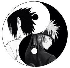 Sasuke Naruto  Yin & Yang