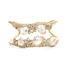 Jagged diamond cluster cuff, Alexis Bittar