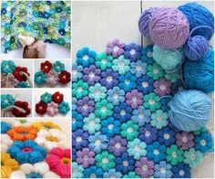 Crochet Flower Blanket. Are you a Mom like me? Do you need to earn money from home to be with your kids? You can with Victoyry100. If you want more info ,please follow me on Pinterest. Have a blessed day