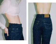 Faustine Steinmetz - trompe l'oeil jeans