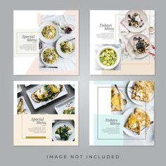 Discover thousands of Premium vectors available in AI and EPS formats Food Graphic Design, Food Menu Design, Food Poster Design, Web Design, Poster Designs, Recipe Book Design, Cookbook Design, Cookbook Template, Social Media Banner