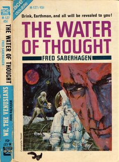 JEROME PODWIL - The Water of Thought by Fred Saberhagen - 1965 Ace Double M-127
