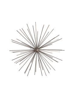 Objects ($250 Arteriors) - This is a striking sculpture in iron. I would try to execute an organic version in bamboo pole or natural vine sticks.