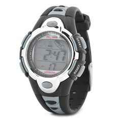SPORTS DIVING WRIST WATCH W/ COLORFUL BACKLIT / WEEK / STOPWATCH / ALARM CLOCK - SILVER