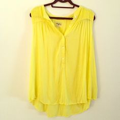 Anthropologie Top Never worn, one minor stain on back that could be removed (as pictured) Anthropologie Tops Blouses