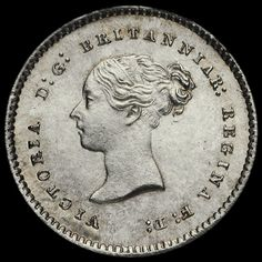 1867 Queen Victoria Young Head Silver Maundy Twopence
