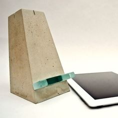 Satisfy your craving for modern industrial design with some cool—and affordable—concrete creations, complete with instructions.