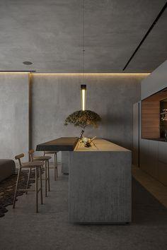 Home Room Design, Dream Home Design, House Design, Modern Kitchen Design, Interior Design Kitchen, Interior Decorating, Modern Interior Design, Home Gadgets, Cuisines Design
