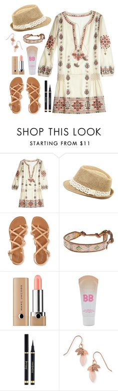 """""""Untitled #28"""" by mina-minahil ❤ liked on Polyvore featuring Calypso St. Barth, Wet Seal, Aéropostale, Chan Luu, Marc Jacobs and Maybelline"""